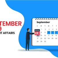 September 2019 Current Affairs