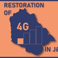 Restoration of 4G Internet Services in J&K