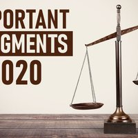 Landmark Judgments of 2020: Must Read for Law Students