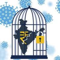 What is the economic cost of covid-19 lockdown in india