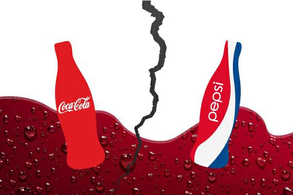 Coca Cola vs Pepsi - The Hot War of your Cold Drinks